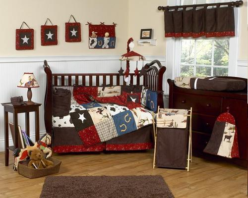 wild west cowboy crib bedding kits bedroom decorating ideas for