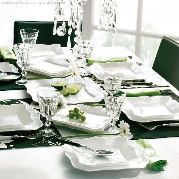 decorating the Christmas table ideas8