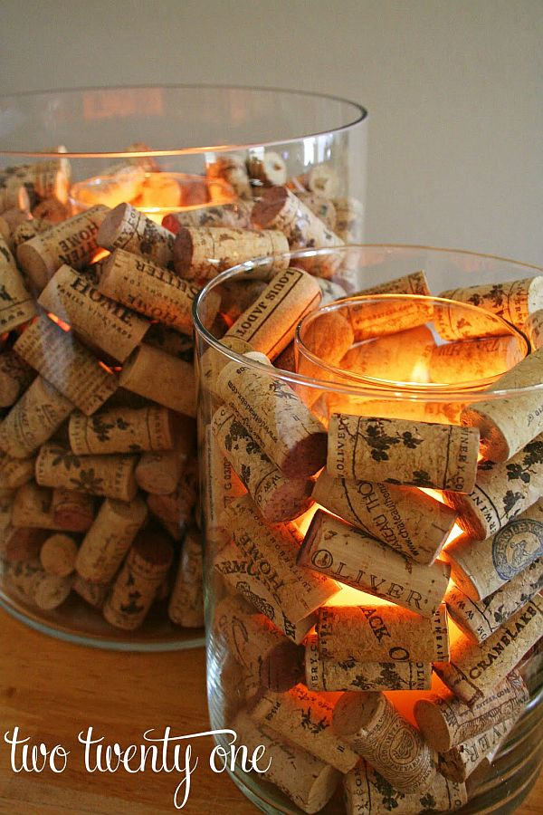 diy wine cork christmas wreath Ideas3