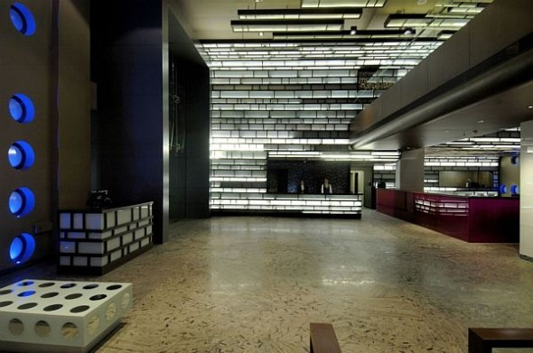 reception Hotel in India Architects