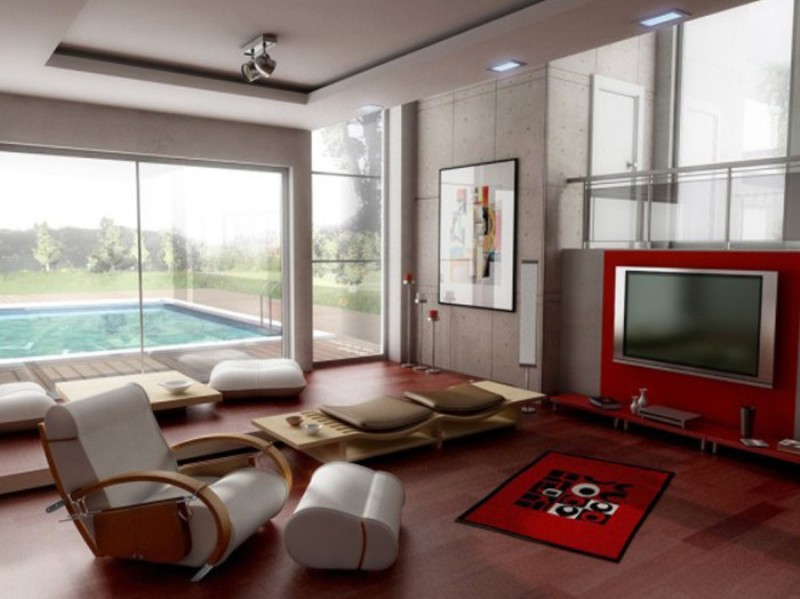 Japanese Living Room Layout Decor