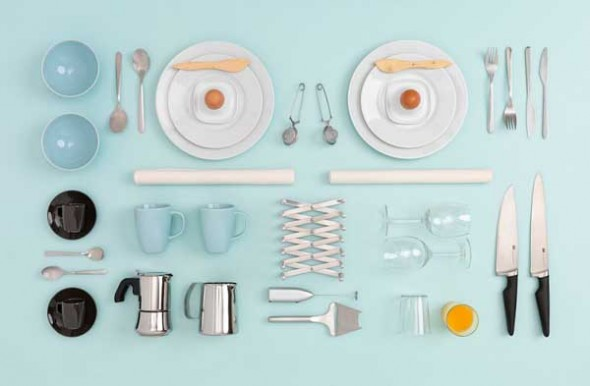 IKEA Kitchen Table by Carl Kleiner and Evelina Bratell