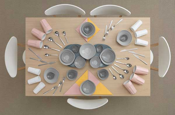 Table Art Decorating by Carl Kleiner and Evelina Bratell
