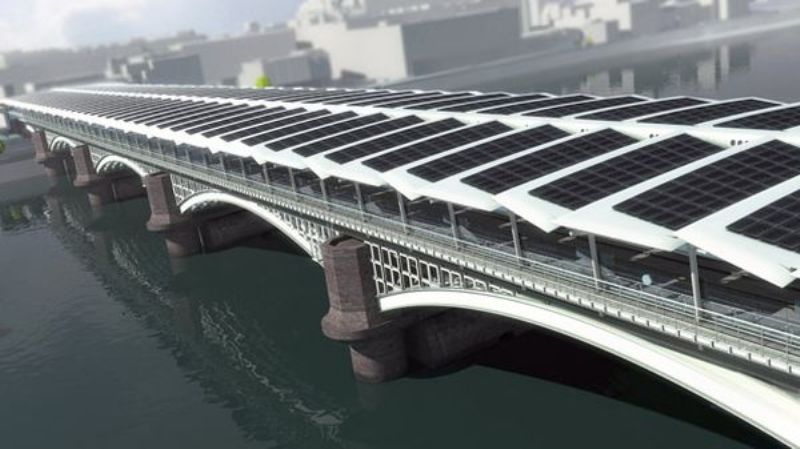 Green megastructures Solar Bridge