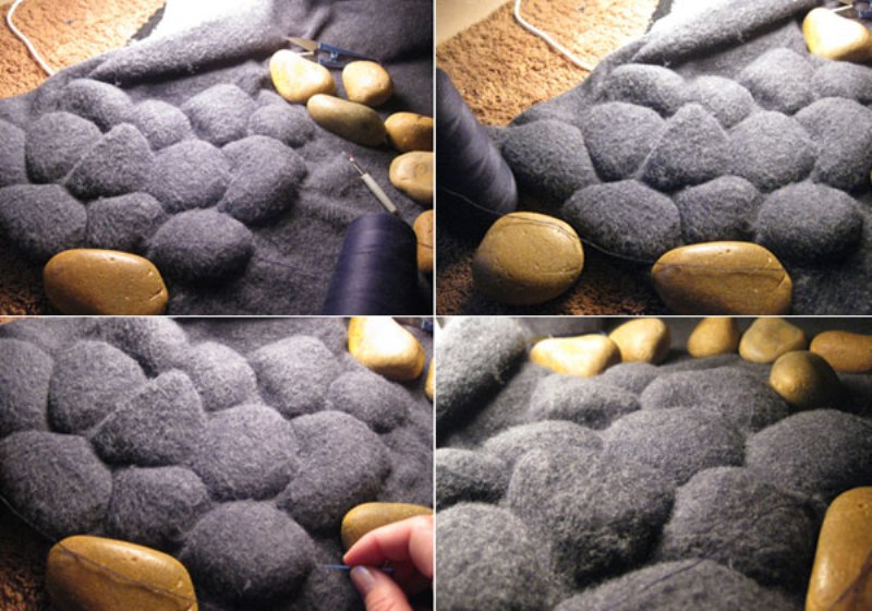 Pebbles Carpet by Neora Zigler