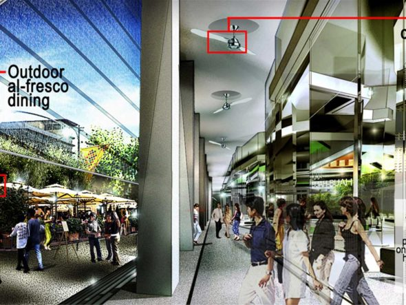 Interior Retail Commercial Building Malaysia