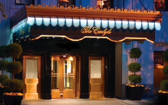 Exterior of The Carlyle A Rosewood Hotel