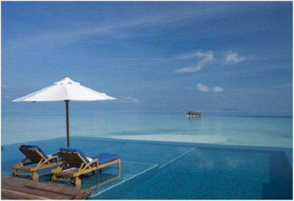 Rangali Island Swimming Pool Maldives