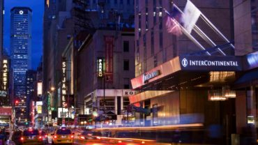 Times Square Luxury Hotel InterContinental New York