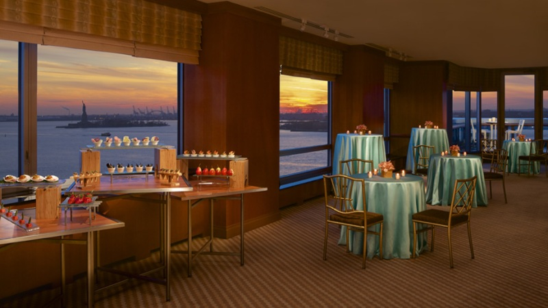 Enjoy spectacular sunsets - Battery Park Ritz Carlton New York