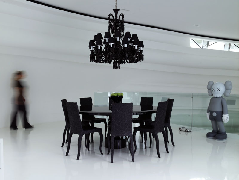 Modern Luxury Villa Design Dining Room