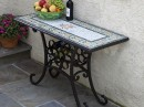 Floral Designed Table in Mosaic