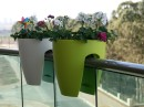 Greenbo Modern Balcony Planters Pretty