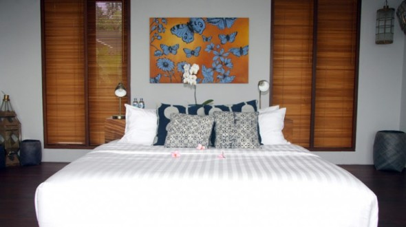 Malimbu Cliff Villa - Bed