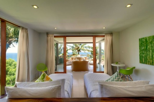Malimbu Cliff Villa - Double Bed