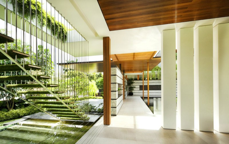 Illustration-Natural Concept of House Interior
