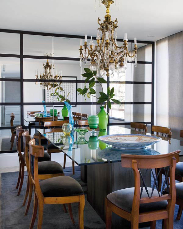 Madrid House by Luis Puerta - Dining Room