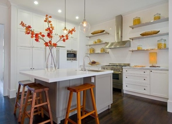 Kitchen open shelving decor beautifully