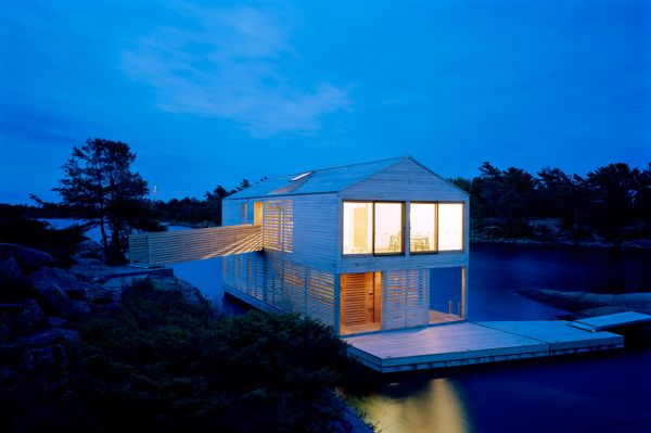 Modern Minimalist Floating House