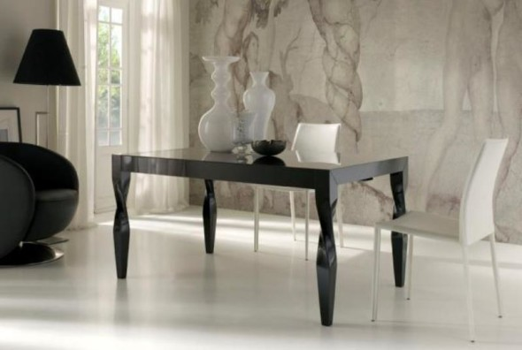 Black Lacquer Table