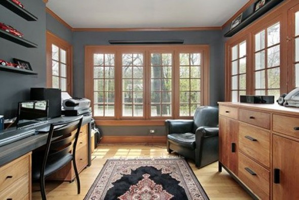 Magnificent Turning Your Garage Into Home Office Largest Home Design Picture Inspirations Pitcheantrous