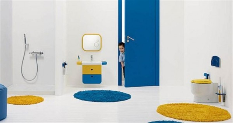 Bright Kids Bathroom