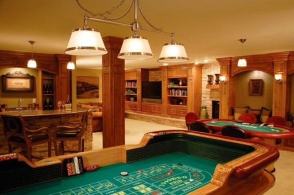 Games Room Basement