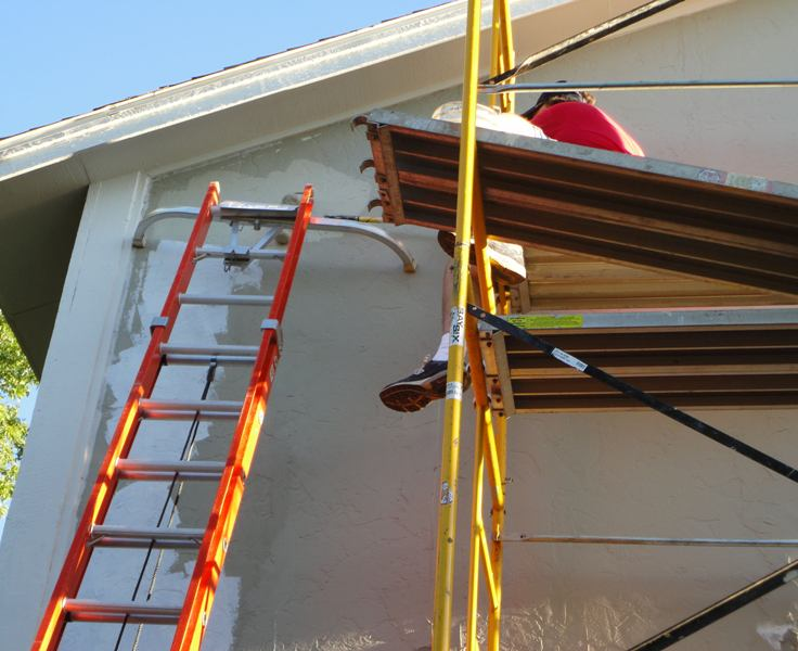 House Repair Scaffolding-Home Improvement