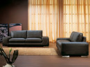 LEATHER SOFA by frinifurniture
