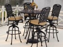 Summerclassics-Bistro Table Chairs Outdoor Furniture