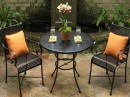 Summerclassics-Cozy Two Some Chair Table Outdoors
