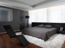 Comfy Cool Contemporary Bedroom & Lounger by Geometix