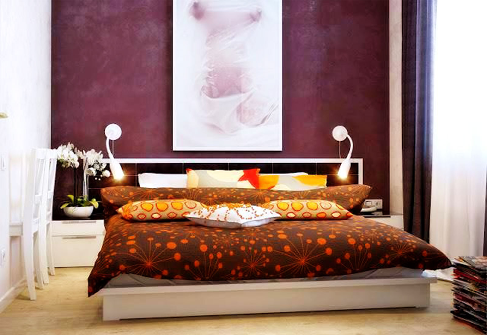 Accent Wall Bedroom Decor - Elegant Furniture Ideas