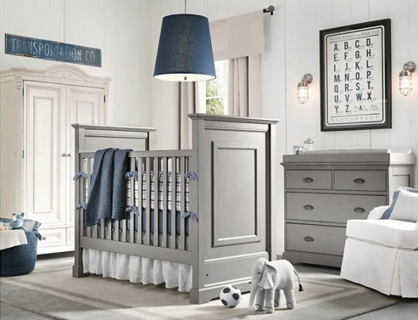 Complete Bed and Storage System for Baby