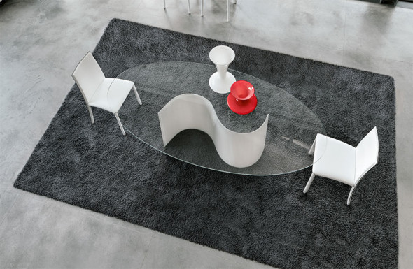 Segovia Glass Table Top