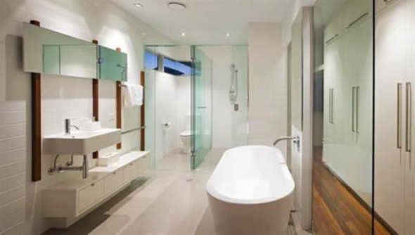 Bathroom - SheOak House by Base Architecture
