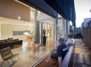 Interior at First Floor - SheOak House by Base Architecture
