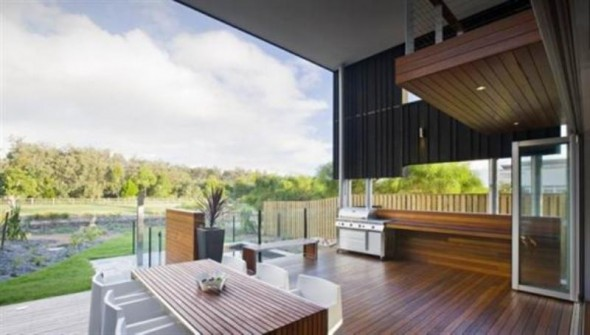 Terrace - SheOak House by Base Architecture