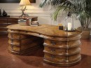 Wonderful Wood Office Table with Drawers