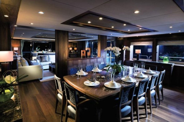 Luxurious Homes Interior Design - Furnished yacht