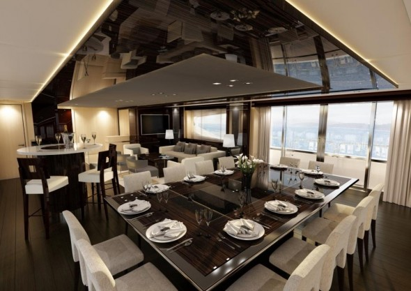 Luxurious Homes Interior Design - dining