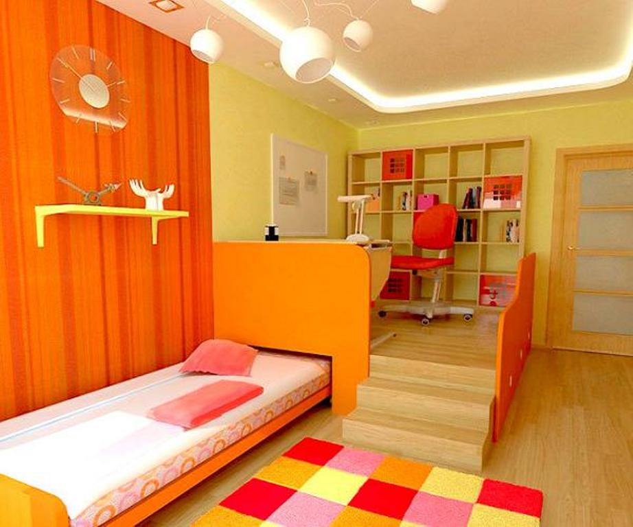 Gorgeously Colorful Teen Room