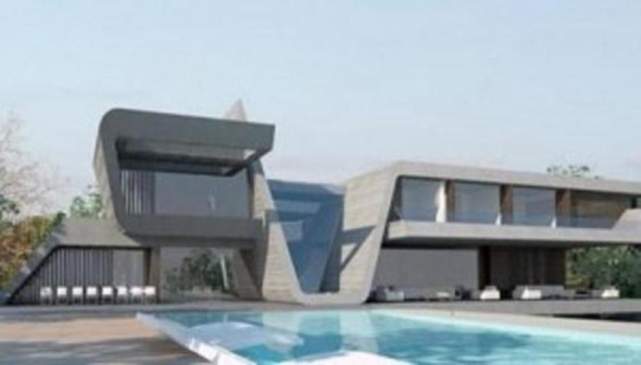 SwimmingPool Cristiano Ronaldo House