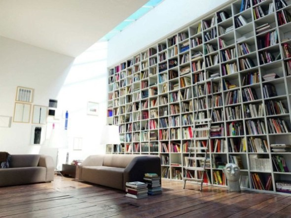 Amazing Home Library In One Furniture
