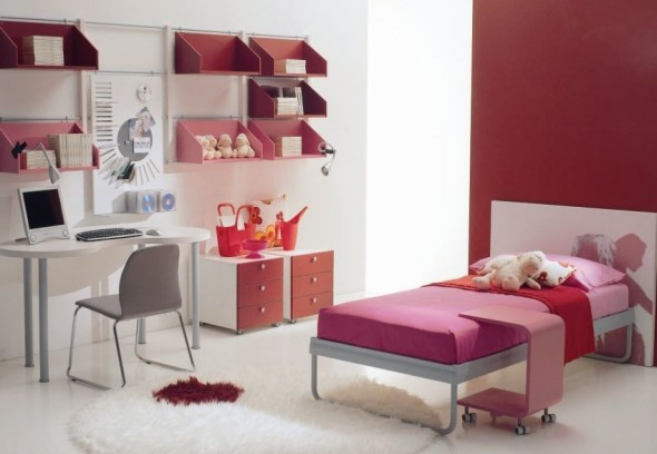 Cool Teenage Bedroom Di Liddo & Perego