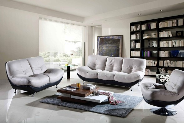 Charming Modern Living Room Furniture