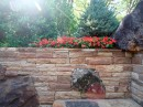 Mixed Media-Retaining Wall Ideas