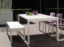 Straight Chairs with Bench for Dining