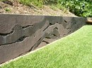 Waves of Concrete-Retaining Wall Ideas
