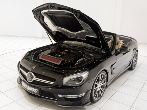 2013 Brabus 800 Roadster-Open Engine